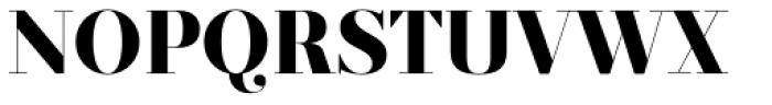 Prumo Display ExtraBold Font UPPERCASE