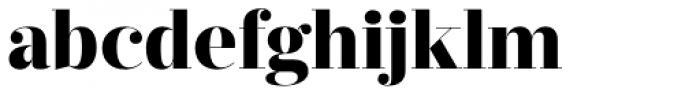 Prumo Display ExtraBold Font LOWERCASE