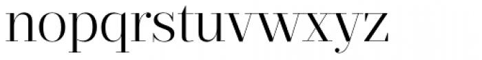 Prumo Display Light Font LOWERCASE