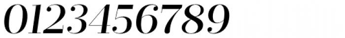 Prumo Display Medium Italic Font OTHER CHARS