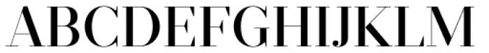 Prumo Display Medium Font UPPERCASE