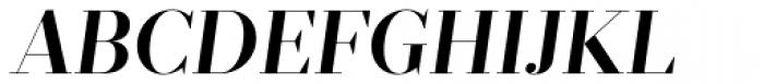 Prumo Display SemiBold Italic Font UPPERCASE