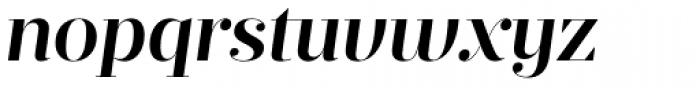 Prumo Display SemiBold Italic Font LOWERCASE
