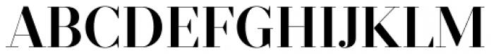 Prumo Display SemiBold Font UPPERCASE
