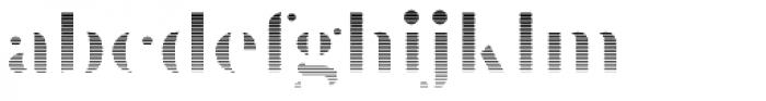 Prumo Poster Gradient Font LOWERCASE