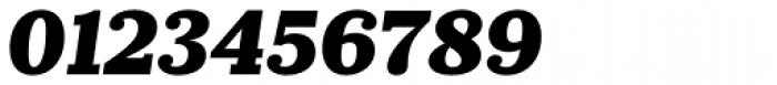 Prumo Slab Black Italic Font OTHER CHARS