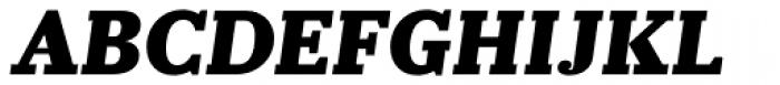 Prumo Slab Black Italic Font UPPERCASE