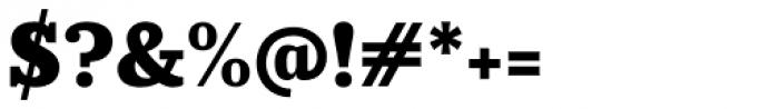 Prumo Slab Black Font OTHER CHARS