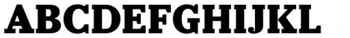 Prumo Slab Black Font UPPERCASE