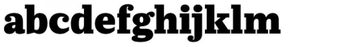 Prumo Slab Black Font LOWERCASE