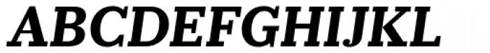 Prumo Slab Bold Italic Font UPPERCASE