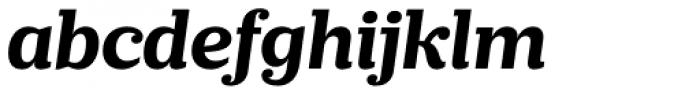 Prumo Slab Bold Italic Font LOWERCASE