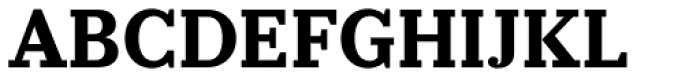 Prumo Slab Bold Font UPPERCASE