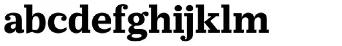 Prumo Slab Bold Font LOWERCASE