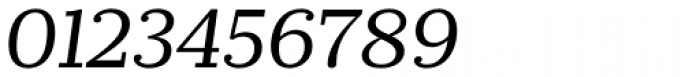 Prumo Slab Book Italic Font OTHER CHARS