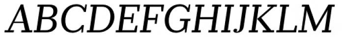 Prumo Slab Book Italic Font UPPERCASE