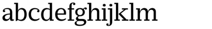 Prumo Slab Book Font LOWERCASE