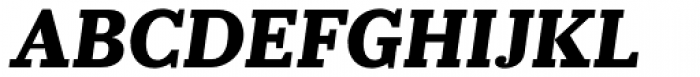 Prumo Slab ExtraBold Italic Font UPPERCASE