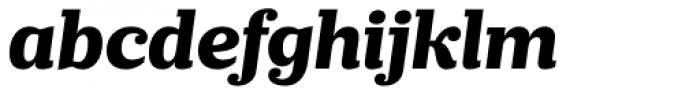 Prumo Slab ExtraBold Italic Font LOWERCASE