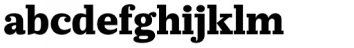 Prumo Slab ExtraBold Font LOWERCASE