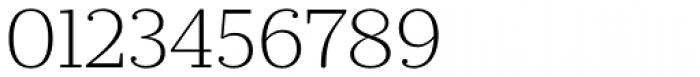 Prumo Slab ExtraLight Font OTHER CHARS