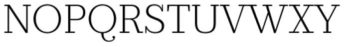 Prumo Slab ExtraLight Font UPPERCASE