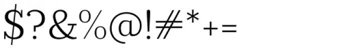 Prumo Slab Light Font OTHER CHARS