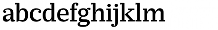 Prumo Slab Medium Font LOWERCASE