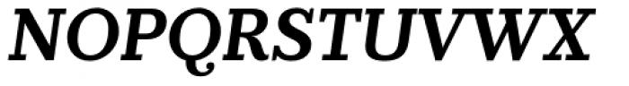 Prumo Slab SemiBold Italic Font UPPERCASE