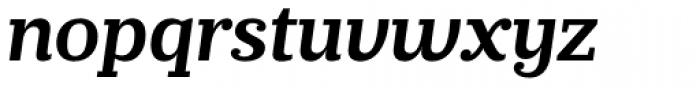 Prumo Slab SemiBold Italic Font LOWERCASE