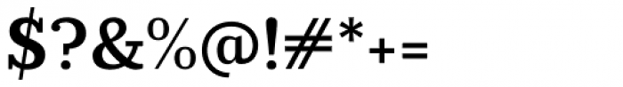 Prumo Slab SemiBold Font OTHER CHARS