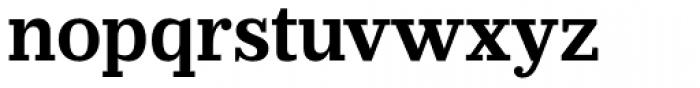 Prumo Slab SemiBold Font LOWERCASE