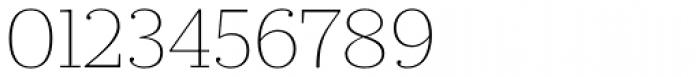 Prumo Slab Thin Font OTHER CHARS