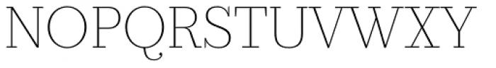 Prumo Slab Thin Font UPPERCASE
