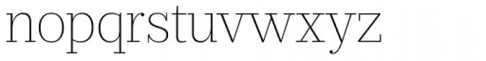 Prumo Slab Thin Font LOWERCASE