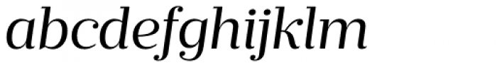Prumo Text Book Italic Font LOWERCASE