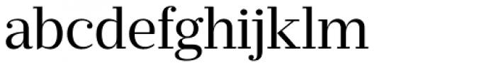 Prumo Text Book Font LOWERCASE