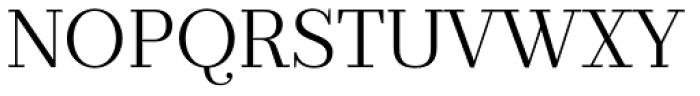 Prumo Text Light Font UPPERCASE