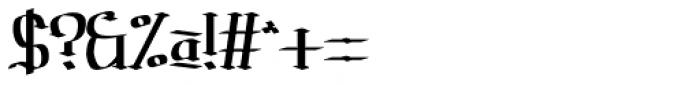 Prussak BC Regular Font OTHER CHARS
