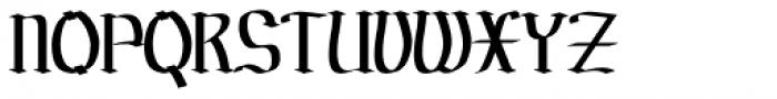 Prussak BC Regular Font UPPERCASE