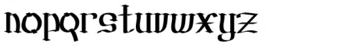 Prussak BC Regular Font LOWERCASE