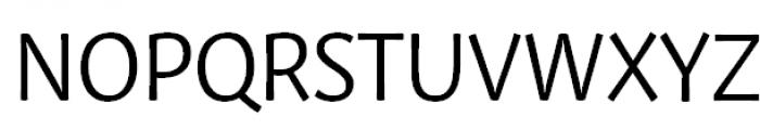 Private Sans Regular Font UPPERCASE