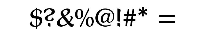 PresentLTStd-BoldCondensed Font OTHER CHARS