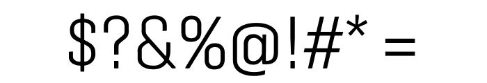 Protipo Variable Compact Font OTHER CHARS