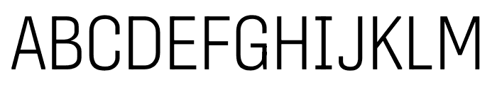 Protipo Variable Compact Font UPPERCASE