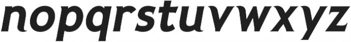 Pseudonym Bold Italic otf (700) Font LOWERCASE