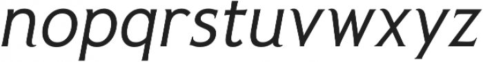 Pseudonym Italic otf (400) Font LOWERCASE