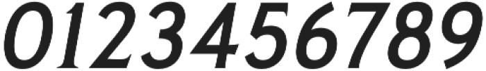 Pseudonym Medium Italic otf (500) Font OTHER CHARS