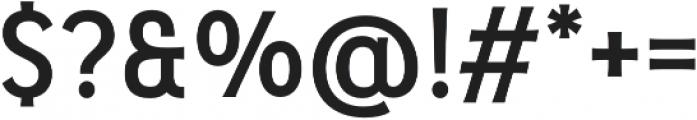 Pseudonym Medium otf (500) Font OTHER CHARS