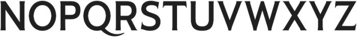 Pseudonym Medium otf (500) Font UPPERCASE